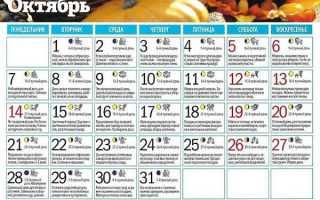 Лунный посевной календарь садовода и огородника на октябрь 2021 года: таблица и советы