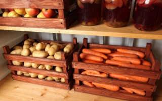 Как хранить картошку на балконе?