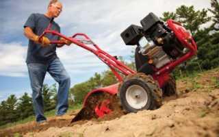 Как выкопать картошку мотоблоком?