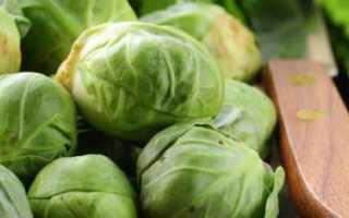 Как ускорить созревание брюссельской капусты?