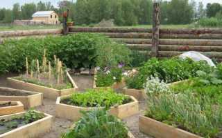 Как сделать французский огород своими руками
