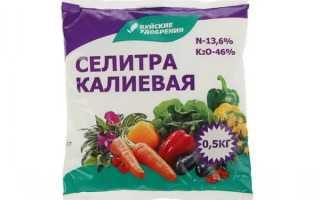 Калийная селитра – универсальное удобрение для сада, состав, свойства и применение, отзывы