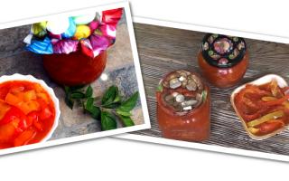 Перец Лечо – 7 рецептов на зиму; Лизать пальцы